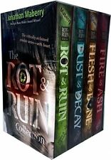 The Rot & Ruin Collection Jonathan Maberry 4 Books Box Set Pack Dust & Decay HB