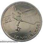 1983 PORTUGAL 5 ESCUDOS ROLLER HOCKEY WORLD CHAMPIONSHIP UNC COINS 5$00 1982 G19