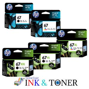 Genuine HP 67, 67XL, 67XXL ink Cartridge HP Deskjet 1210,1212,1213,2330,2331