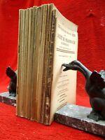 Lot de 17 Bulletins de Travaux de la Société de Pharmacie de Bordeaux + autres