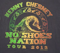 kenny chesney 2013 Tour T-shirt Size Large