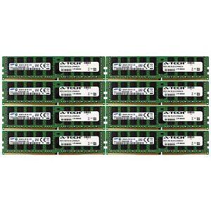 PC4-17000 Samsung 128GB Kit 8x 16GB Dell PowerEdge R730xd R730 R630 Memory RAM