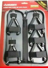 Husky 5 Piece Mini Pliers Set With Pouch