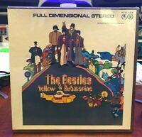 RARE FACTORY SEALED Beatles Yellow Submarine Reel to Reel Tape 3 ips 4 track 1/4