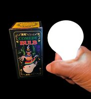 MAGIC TRICK COMEDY LIGHT BULB - Joke Prank Gag Stage Hand Mouth Toy