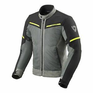 Rev'It Airwave 3 Mens Textile Motorcycle Jacket Gray/Black Medium