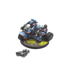 SPACE WOLVES Attack bike #1 WELL PAINTED Warhammer 40K