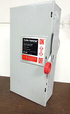 * Cutler-Hammer HD Safety Switch 100A, 600V, 3Ph,  Nema 1 Cat# DH363NGK   DS-702