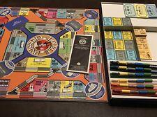 1988 Lionel Train Game Double Crossing Board Build Railroads Fortunes