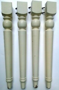 "4 Beautiful 27 3/4"" Ornate Furniture Table Legs Restoration Lot"