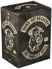 Sons of Anarchy: The Complete Series Seasons 1-7 1 2 3 4 5 6 7 (30 DVD Box Set)