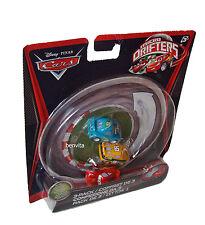 Disney Cars Micro Drifters Octane Gain, Lightning & Spare O Mint Mattel 4+ - Neu