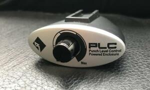 Rockford Fosgate PLC Level Control Bass Knob Powered Encl PS-8 P300-10 P300-12