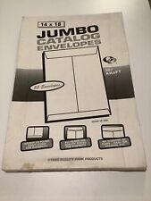 14 x 18 Jumbo Envelopes 25 qty
