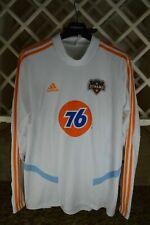 Adidas MLS Houston Dynamo Training Top White/Orange DP5008