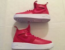 NEW Nike Air Force 1 Ultraforce Mid GYM RED WHITE 864014-600 Size 9
