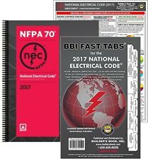 NFPA 70: NEC Code Book, Spiralbound, Fast Tabs and NEC Quick Card, 2017 Editions