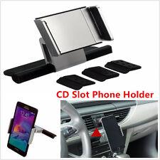 Universal Car CD Slot Holder Mount For 3.5-5.5 Inch Mobile Phone iPhone Sat Nav