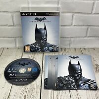 Batman Arkham Origins (PS3) Sony Playstation 3 Complete With Manual