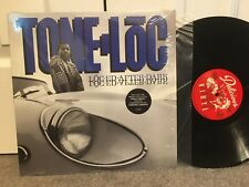 TONE LOC - After Dark LP Rap Original Wild Thing Delicious Vinyl Shrink NM