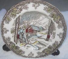 "Johnson Brothers Friendly Village Sugar Maples Dessert Plate 6 """