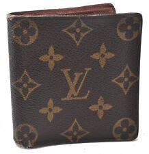 Auth Louis Vuitton Monogram Porte Billets 6 Cartes Credit M60929 LV A6568