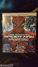 The Amazing Spider-Man 3D+2D BLU-RAY 4 DVD COFANETTO COLLEZIONISTA EDIZIONE