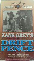 ZANE GREY'S DRIFT FENCE VHS TOM KEENE BUSTER CRABBE WESTERN CLASSICS