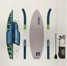 """Jimmy Styks """"Monsoon"""" Inflatable iSUP Stand Up Paddle Board Package"""