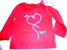 paglie Camisa, Rojo gr.74- 98