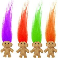 German Trendseller® - 12 x Trolle mit bunten Haaren | Troll Mix für Kinder |
