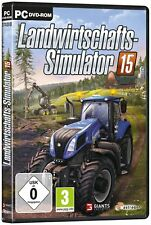 PC Game landwirtschafts-simulator 15 Farming Simulator 2015 DVD Shipping NEW