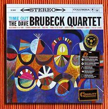 DAVE BRUBECK QUARTET - TIME OUT   200g  2LP 45rpm  Analogue Productions  SEALED