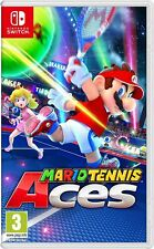 Mario Tennis Aces (Nintendo Switch) Fast Free UK P&P New & Sealed IN STOCK NOW