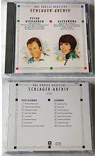 DEUTSCHES SCHLAGER-ARCVHIV (A) Alexandra/Peter Alexander . Rare 1988 Club CD TOP