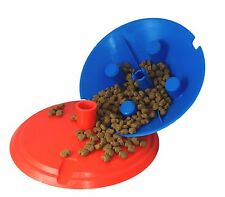 DOY - Interactive Dog Treat Toy  - Colours are Blue/Red or Purple/Yellow