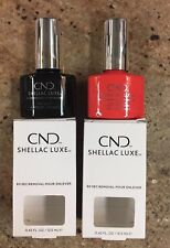 CND Shellac Luxe. No Base Needed. The Listing Is For 1 Color And 1 Top.