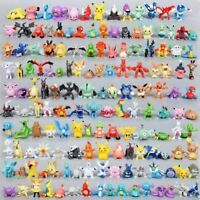Toy Mini Figures Monster Animation model collection XMAS Gift 2-3cm 144 PIECES