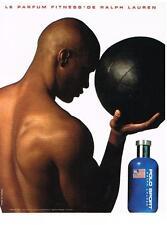 PUBLICITE 1998    RALPH LAUREN   POLO SPORT boutique parfum
