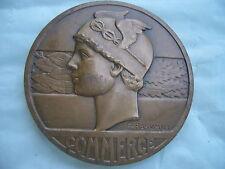 Raro medaglia in bronzo ,raffigurante MERCURIO o ERMES COMMERCE da RASUMNY