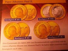 Biete hier Große Vatikan- Sammlung  mit  52 Münzen  an  siehe Bilder