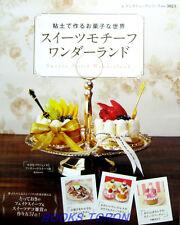 Sweets Motif Wonderland /Japanese Handmade Clay Craft Pattern Book