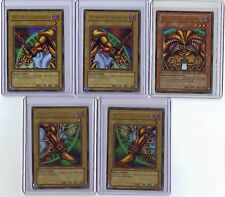 Yu-Gi-Oh Exodia The Forbidden One Mint original set New extremely Rare perfect