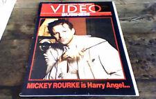 VIDEO BUSINESS UK 1988 ANGEL HEART MICKEY ROURKE HELLRAISER FRIDAY 13th BRONSON