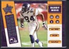 RANDY MOSS DAUNTE CULPEPPER 2002 ROOKIES & STARS #14 TICKET MASTERS #1190/2500