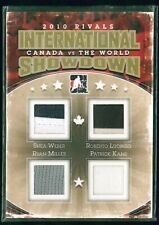 2011-12 ITG Canada World Showdown Rivals Gold ISR12 Weber/Miller/Luongo/Kane /10