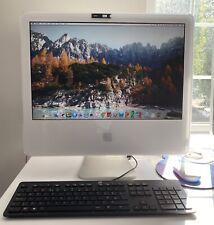 Apple iMac A1207  3GB RAM NEW 250GB SSD MAC OSX PLUS  BONUS Windows10 HOME