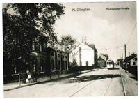 Ansichtskarte - Mülheim - Dümpten - Partie Mellinghofer-Straße mit Straßenbahn