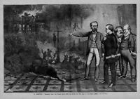 BOSS WILLIAM TWEED AND HIS TAMMANY RING NEGROES HUNG COLORED ORPHAN ASYLUM BURN