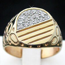 Yellow Gold Plated 14k Rings for Men